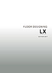 ECOS(エコス)LXシリーズ フロアデザイン集 エディション2017